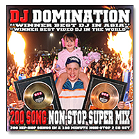 200 Song Non-Stop Super Mix (2 CDS)