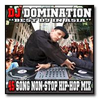 45 Song Non-Stop Hip-Hop Mix